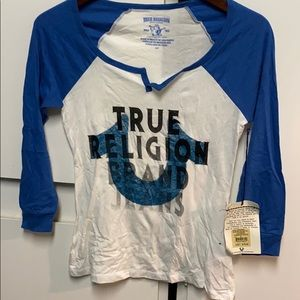 New women's true religion T-shirt